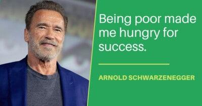 Arnold Schwarzenegger life lessons