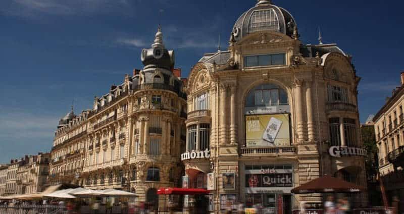 Place de la comedie, Montpellier
